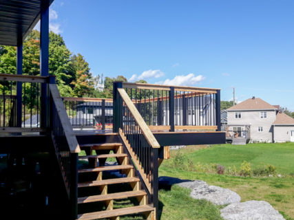 Construction patio